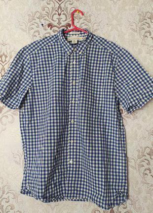 Рубашка, короткий рукав. l. фирма h&m