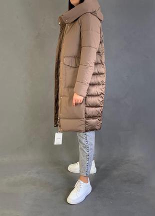 Пуховик зимний пуховое пальто био пух пуховик одеяло