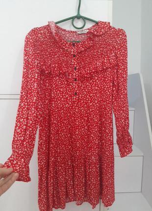 Вискозне шикарне плаття