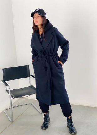Синие пальто осень