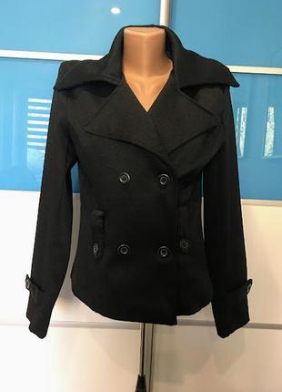 Итальянский плотный пиджак-тренч