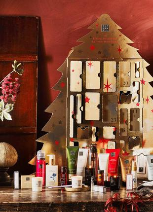 Адвент-календарь rituals, подарочный новогодний набор, 24 предмета