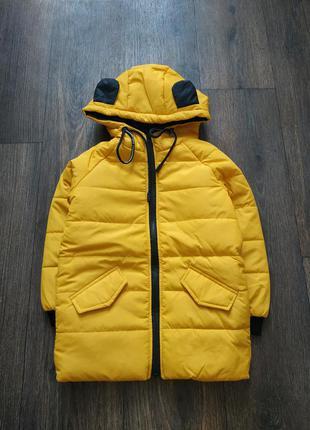 Новая демисезонная курточка, куртка на 5-6 лет