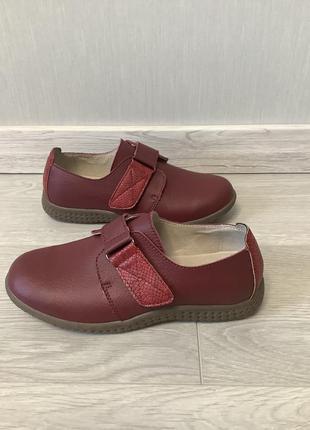 Damart франция оригинал натурал кожа! супер комфортные ортопедические туфли размер 41
