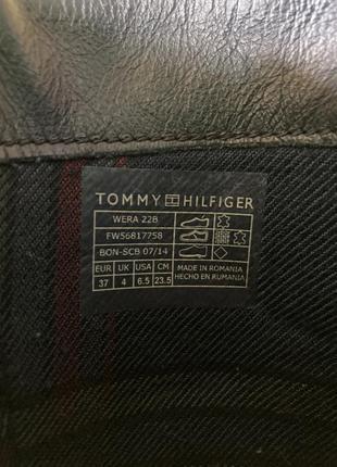 Женские ботинки tommy hilfiger6 фото