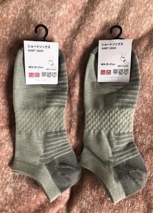 Носки uniqlo р 25-27 см. цена за две пары )