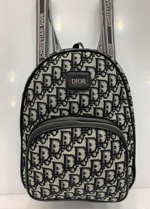 Женский рюкзак oblique grey