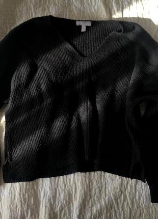 Продам чёрный свитер asos !