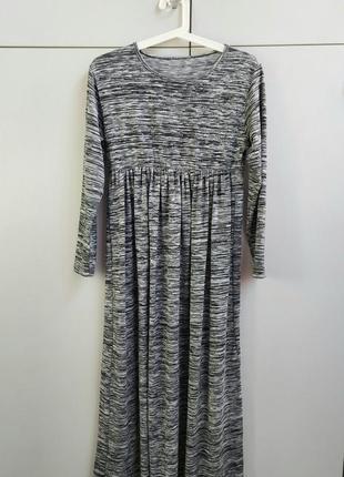 Трикотажное платье для беременной р.36-38(s-m).