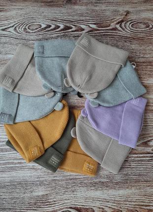 Шапки зара демисезонная шапка zara на девочку детская на 1-3 г, 3-5 лет
