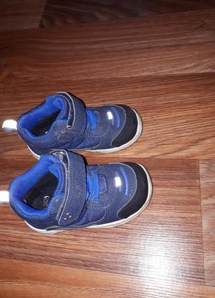 Ботинки демисезонные на мальчика 24р 15.5см skooty tex (оригинал).