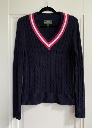 Хлопковый свитер ralph lauren