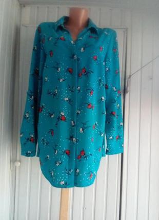 Блуза туника большого размера батал