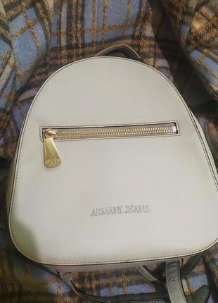 Armani jeans рюкзак
