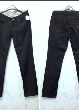 Стильные джинсы с кристаллами сваровски от seven 7