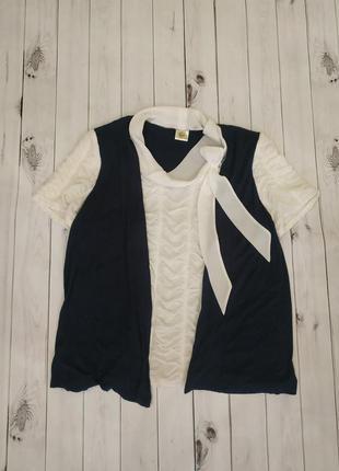 Блузка+жилетка.возможен обмен