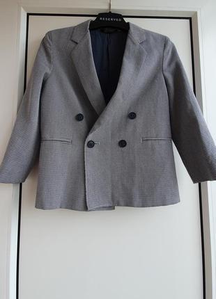 Піджак для хлопчика 5-6р.