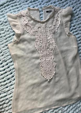Блуза прозрачная
