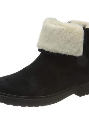 Утепленные демисезонные ботинки geox eclair  33, 34, 36, 37 р.
