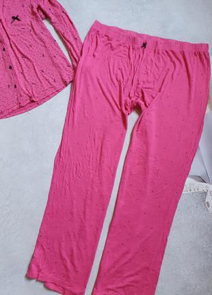 Женская пижама в горошек р. 4xl-5xl2 фото