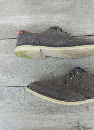 Ted baker мужские замшевые туфли броги оригинал англия 46 размер