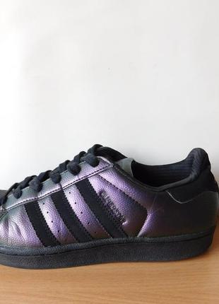 Суперовые кроссовки adidas superstar 38,5 р. стелька 25 см