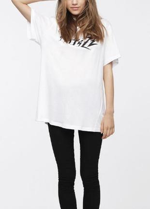 Женская футболка  t-overy-a  итальянского бренда diesel оригинал италия