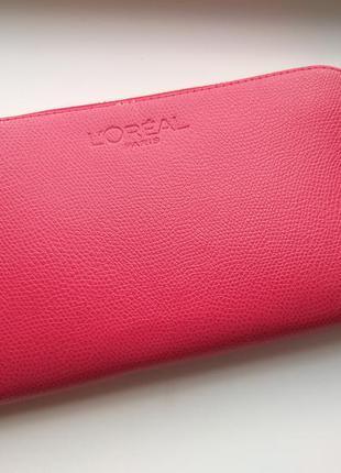 Новый красный кошелек loreal