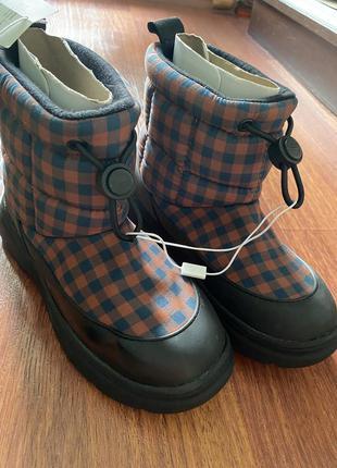 Ботинки сапоги черевики zara