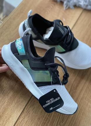 Легкие белые удобные кроссовки new balance оригинал