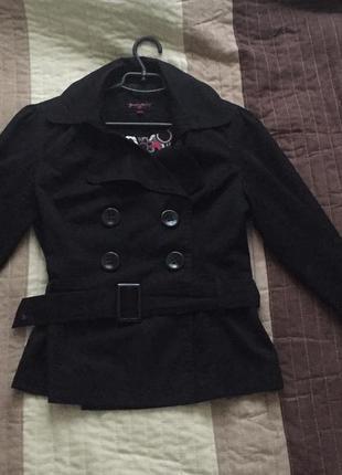 Коттонова коротка курточка new look