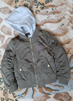 Куртка,бомбер h&m(6-7л.)