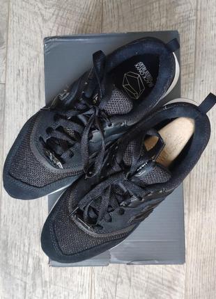 Стильные замшевые кроссовки new balance 997h cw997hjb замшевые 235 36 37 черные городские