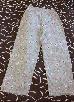 Штаны домашние хлопковые женские, размер 46-48, фирмы bonmarche