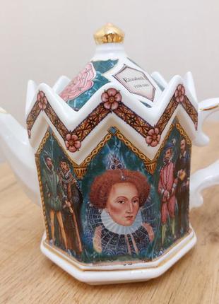Заварочный чайник королева елизавета 1 james sadler