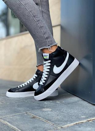 Nike  blazer leather кроссовки найк  наложенный платёж купить1 фото