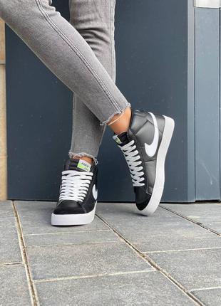Nike  blazer leather кроссовки найк  наложенный платёж купить2 фото
