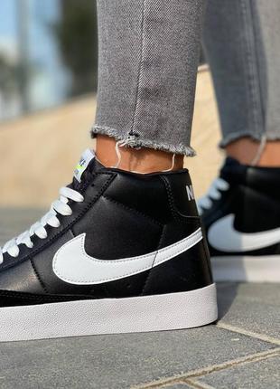 Nike  blazer leather кроссовки найк  наложенный платёж купить3 фото