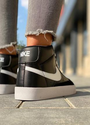 Nike  blazer leather кроссовки найк  наложенный платёж купить5 фото