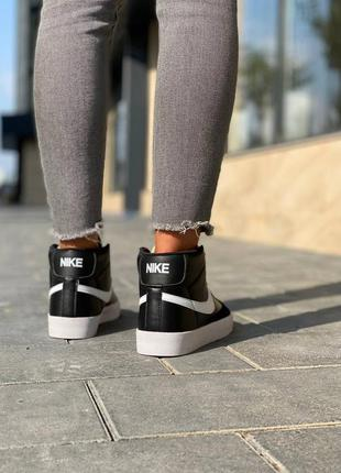 Nike  blazer leather кроссовки найк  наложенный платёж купить4 фото