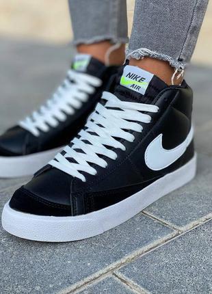 Nike  blazer leather кроссовки найк  наложенный платёж купить6 фото