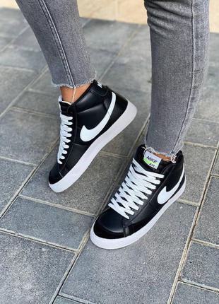 Nike  blazer leather кроссовки найк  наложенный платёж купить8 фото