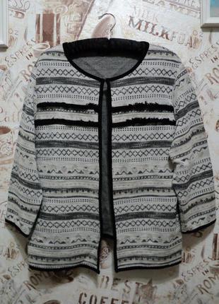 Трикотажный пиджак f&f