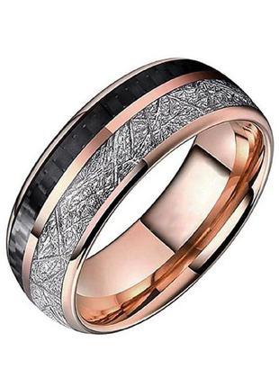 Кольцо унисекс из нержавеющей стали с позолотой abaccio k205 р-ры 7, 8, 9, 10, 11 и 121 фото