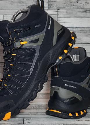 Трекинговые кроссовки salomon gore-tex