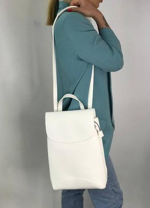 Жіночий рюкзак трансформер, екошкіра, доступний в різних кольорах