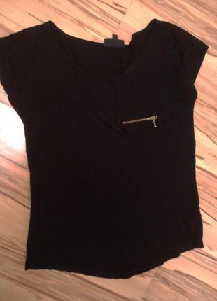 Новая брендовая футболка с молнией, 12-141 фото