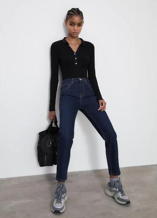 Идеальные плотные джинсы zara на осень1 фото