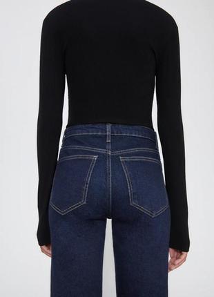 Идеальные плотные джинсы zara на осень5 фото
