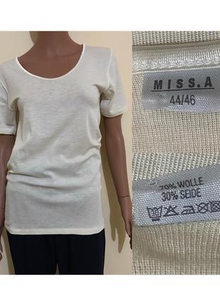 Молочная термо футболка